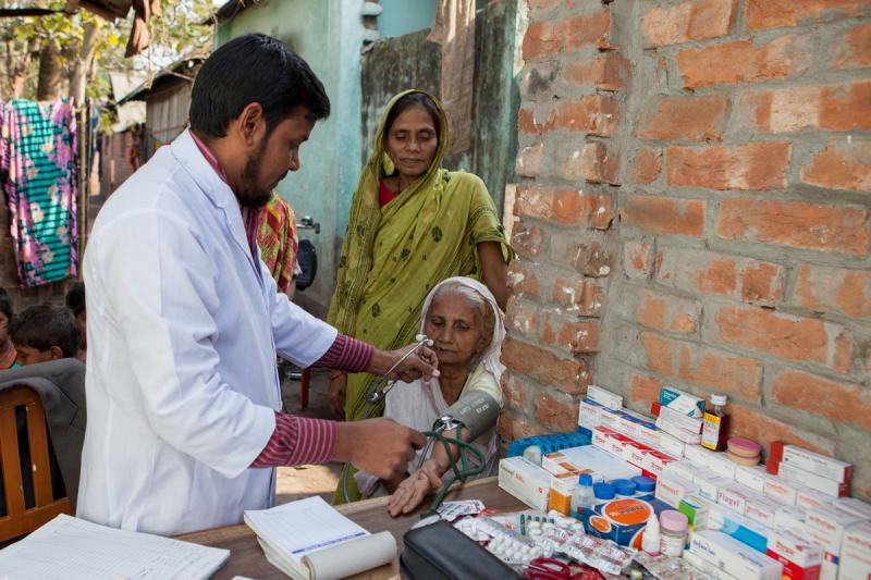 OBAT's mobile health clinic