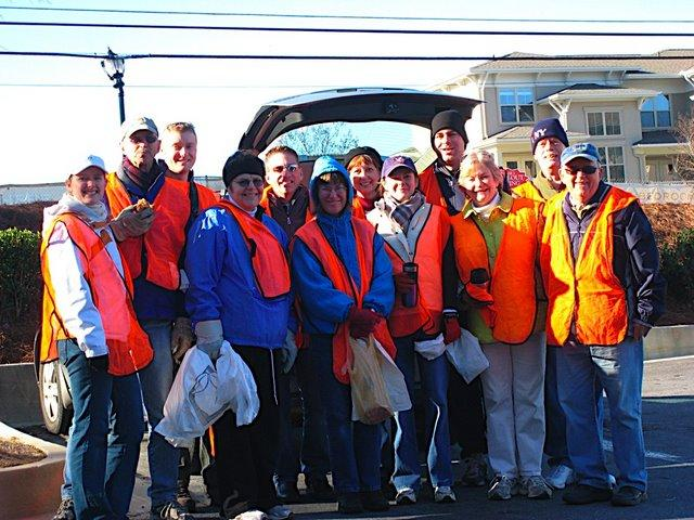 Adopt-a-Highway Litter Pickup