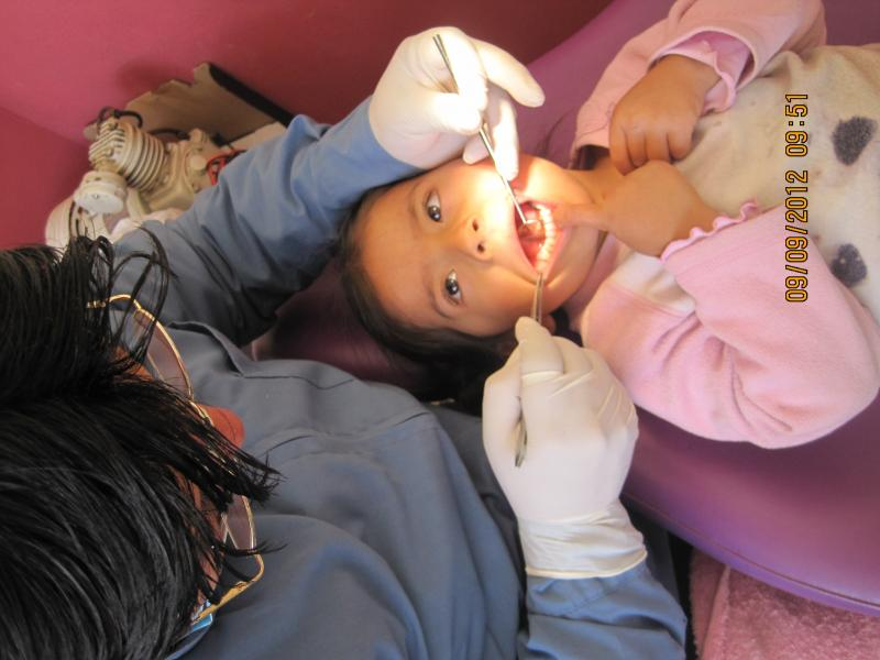 We provided dental care all year for 92 girls