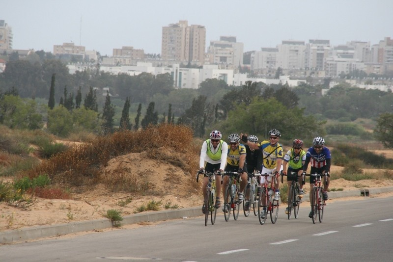 Great route, great people, in Israel
