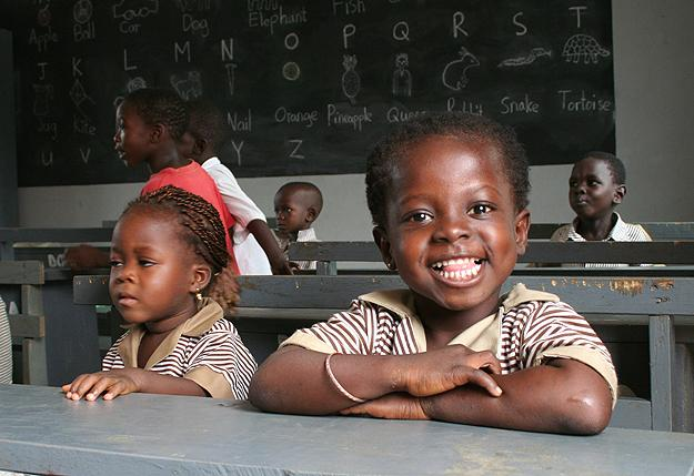 OH has been a vital partner in building two schools in Ghana.