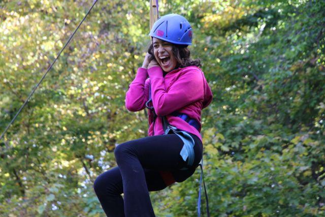 10th Annual Camping Trip - Ziplining