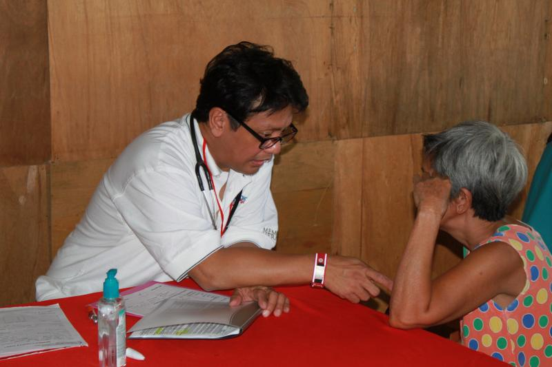 Medical mission to the Philippines 2011