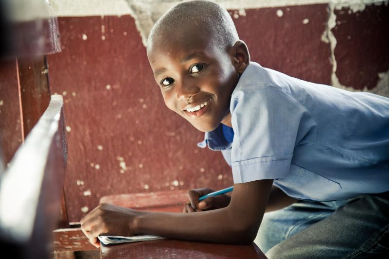Children in Haiti who receive an education have better opportunities and brighter futures than those who lack the opportunity.