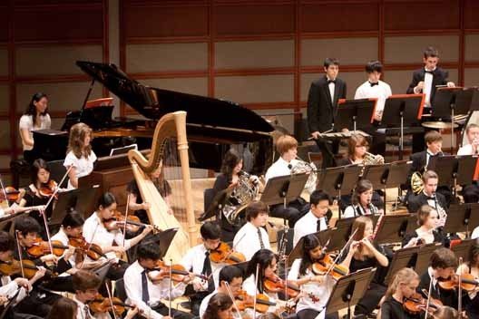 Triangle Youth Philharmonic in Meymandi Concert Hall
