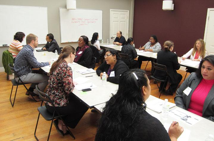 Interview Workshops provide our clients the opportunity to practice their interviewing and networking skills with up to 6 career professionals.