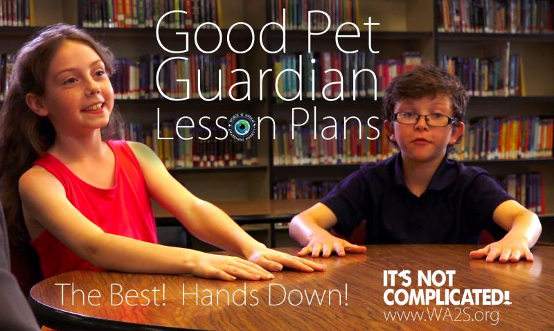 At a cost of 40 cents per student, a $10 pledge will help educate a class of 25 fourth and fifth grade students to become Good Pet Guardians!