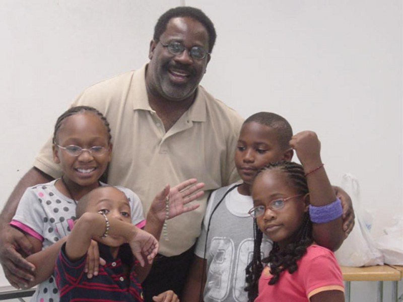 James H. Allen and the Knowledge-First kids group