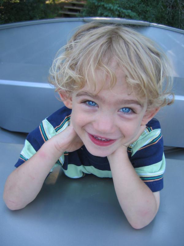 Help FRAXA help children like Jasper, who has Fragile X Syndrome
