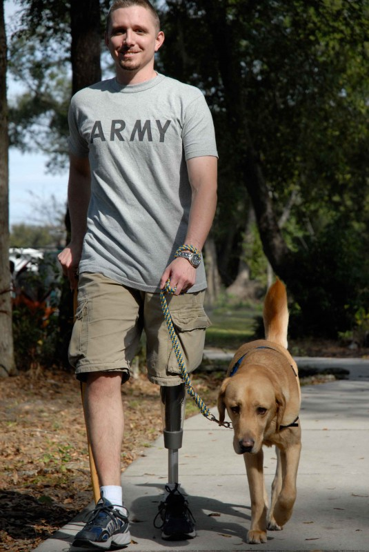 Providing assistance dogs to children, adults and veterans with disabilities