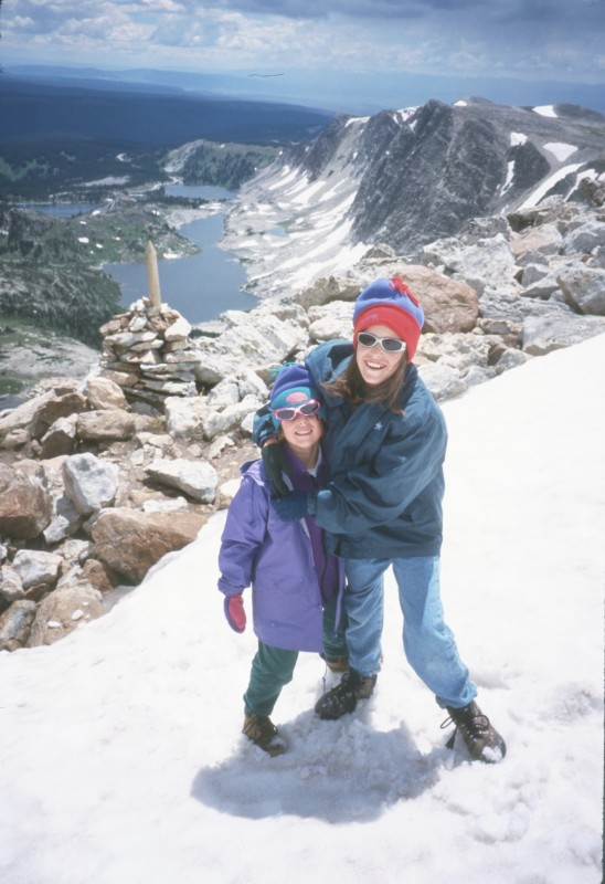 Family climbs Medicine Bow Peak in Medicine Bow National Forest, courtesy photo.