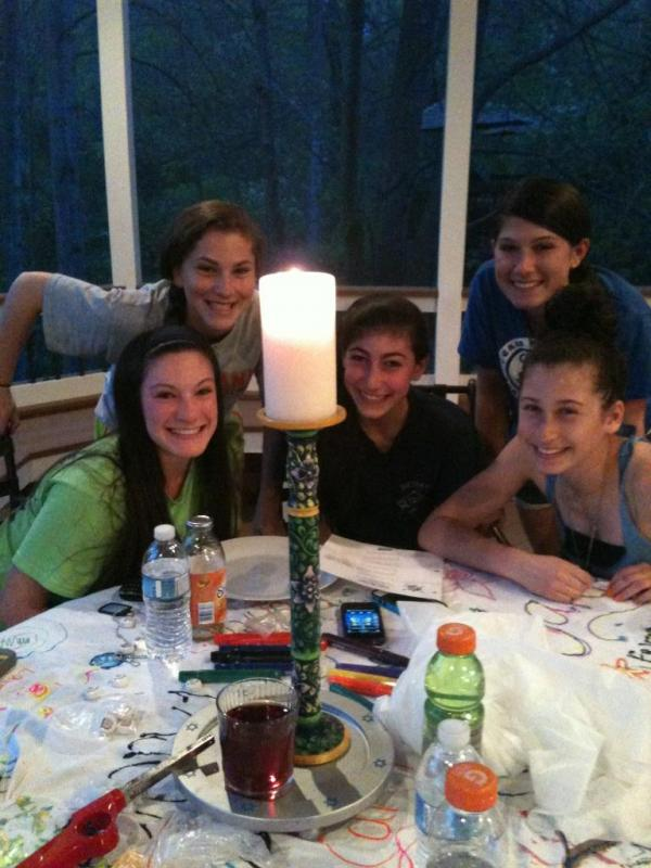 Rosh Hodesh: it's a Girl Thing! Group from the Jewish Federation of Howard County, Maryland.