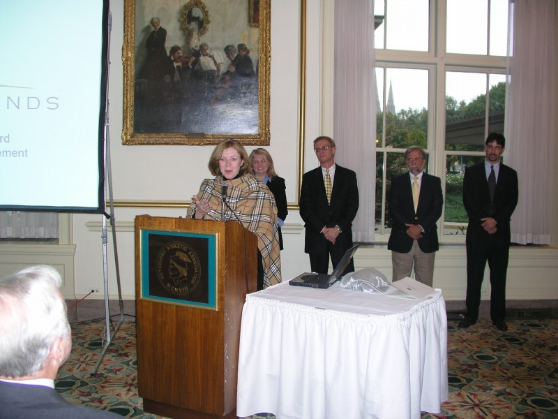 The HSCC won the 2004 Wishart Award for Nonprofit Management Excellence.
