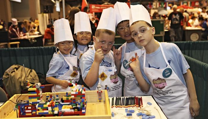 Junior FIRST LEGO League (Jr.FLL) - Grades K-3