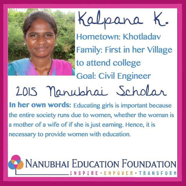 Meet Kalpana, a future engineer