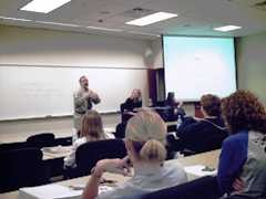 a grad class presentation