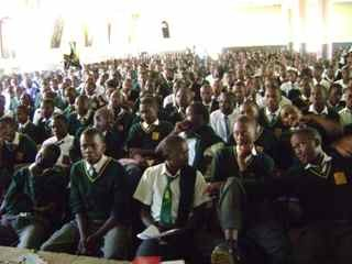 National Museums of Kenya School Outreach program in Kisii Kenya