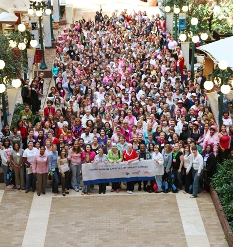 More than 800 women at our Annual Conference for Young Women Affected by Breast Cancer.