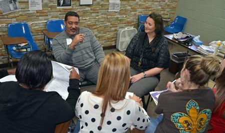 Clients receive group and individual counseling to provide the tools needed for those struggling with substance abuse