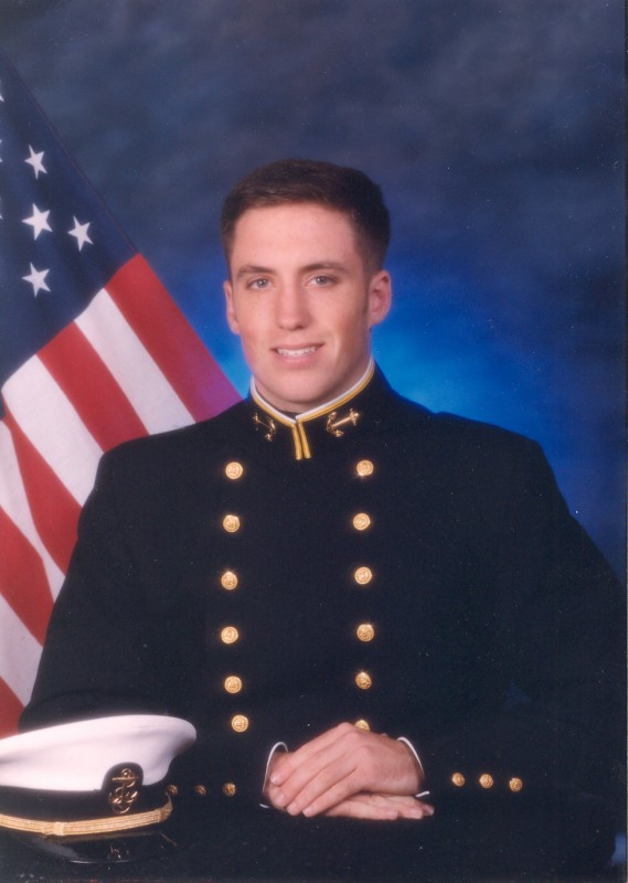 Lt Brian Lauber, one of the sailors supported by SSOT