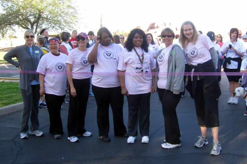 Our Moms at our Annual Lean on Me Walk 2012