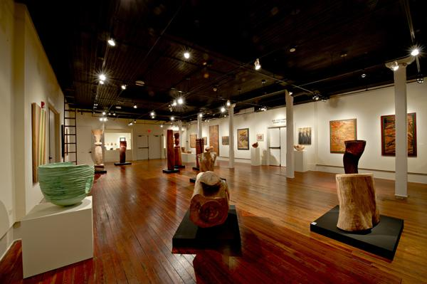 The Gadsden Arts Center's Sara May Love Gallery, photo courtesy of Lindquist Studios