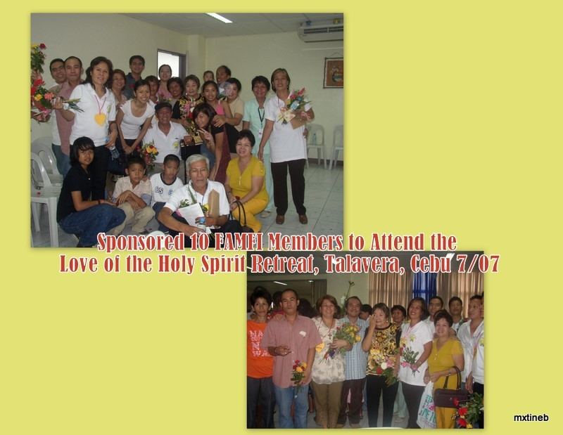 Love of the Holy Spirit 2007