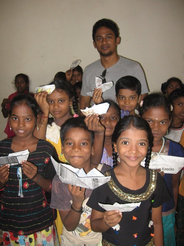 Bhumi's children at a government school