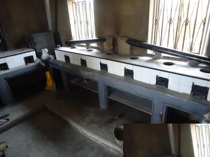 Mother Care Home stoves ready to use, Kagando Rural Development Center