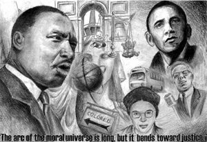 Melody Cao, 2010 MLK Contest Winner - Art Category