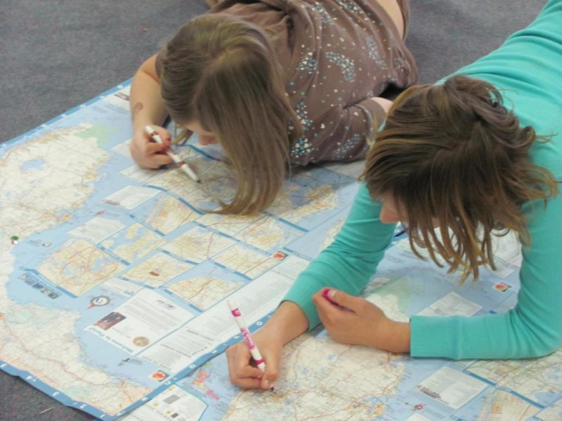 Scouts Map Where Manatees are Found