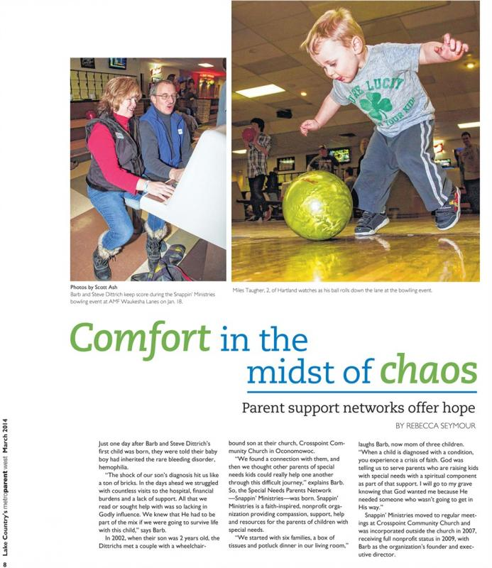 2014 MetroParent West article on our organization
