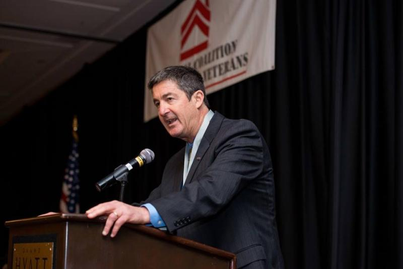 Executive director Michael Blecker at the 2015 National Coalition for Homeless Veterans Conference