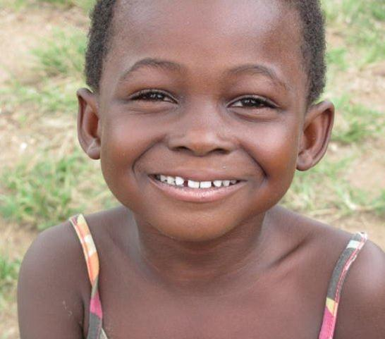One of the precious children we are helping!