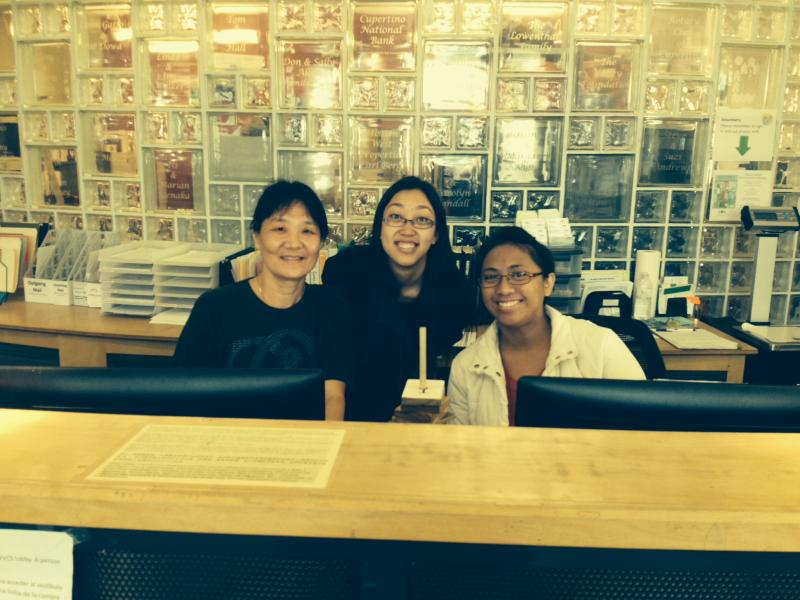 Front Desk Volunteers at West Valley Community Services
