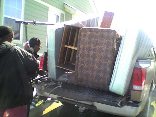 Hope Volunteers Helping Someone Move!!