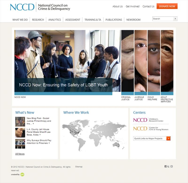 NCCD's award-winning website