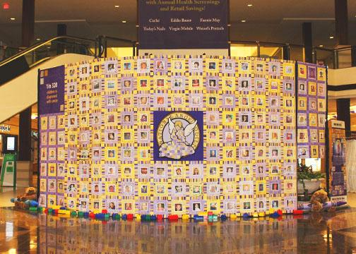 The National Angel Quilt for Childhood Cancer