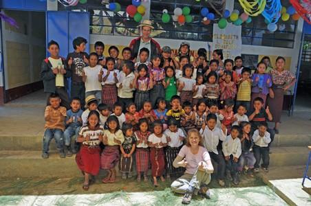 School dedication in Nebaj, a poor, rural northern area of Guatemala.