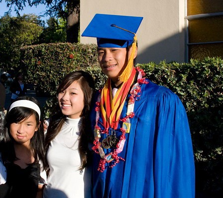 The Nguyen Family.  All 3 have partcipated in the Bridge program.