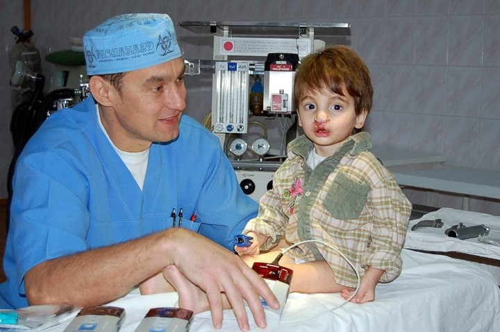 This operation was made possible by UAC's Dr. Gladky and medical equipment donated by Nonin