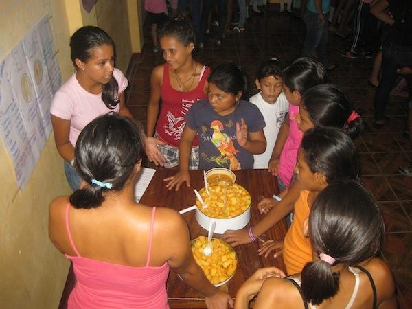 Activities- Off-field Education: Nutrition workshop at SWB Granada, Nicaragua