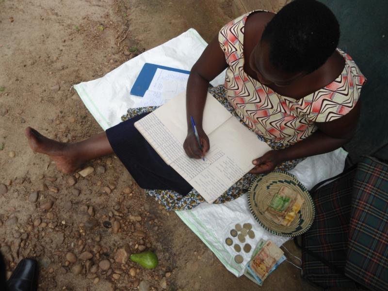 A Nyaka granny bookkeeping