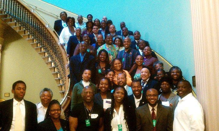 2011 OUT on the Hill delegates assemble in the White House