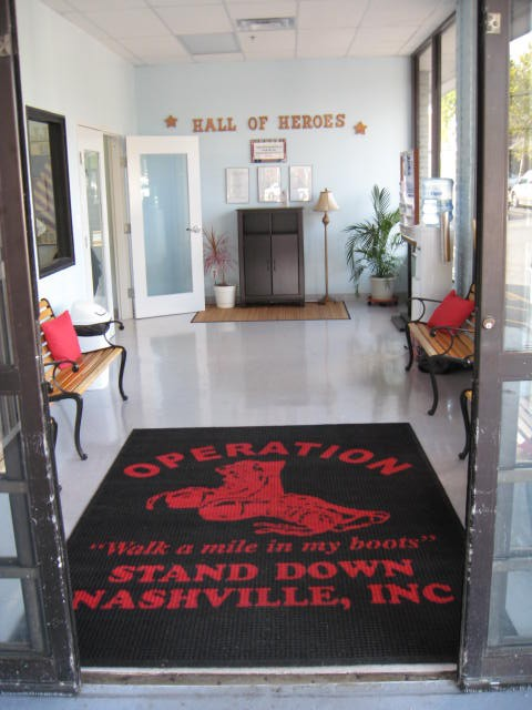 The entrance to our Veteran Service Center
