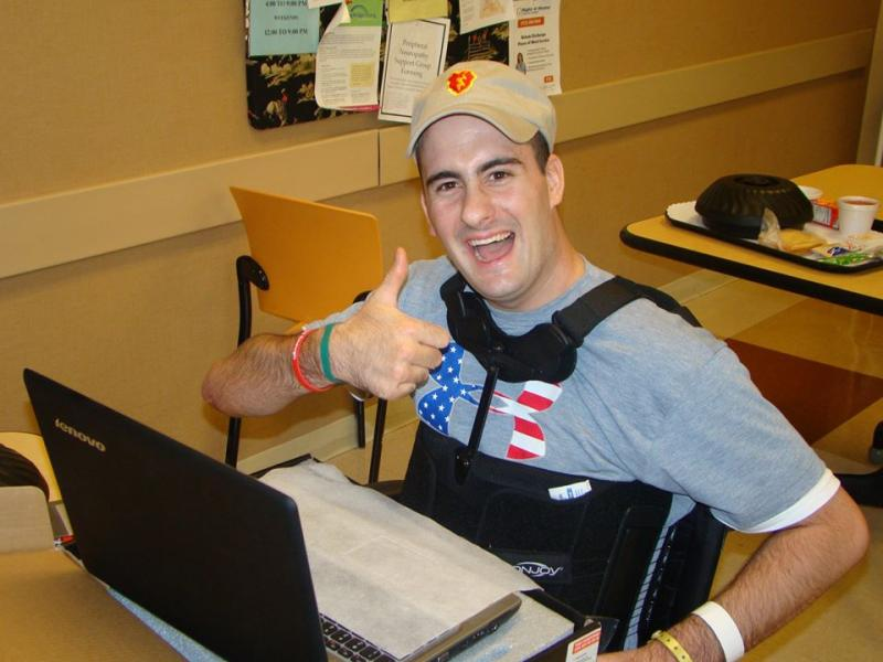 Author Cym Lowell is continuing his mission to make a difference in the lives of wounded Veterans. 100% of the profits from his book, Jaspar's War, are donated to Operation: Next Chapter and Soldiers' Angels to go toward providing special adaptive laptops