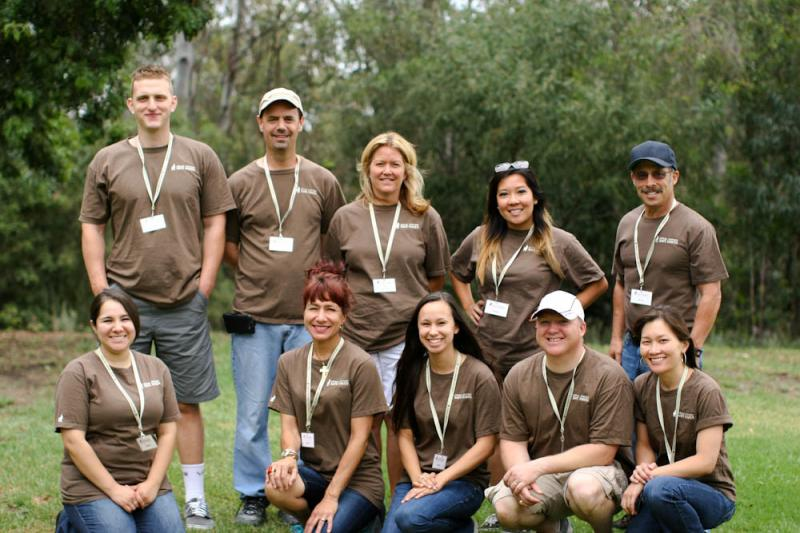 Our Volunteers at the 2nd Annual German Shepherd Safe Haven picnic