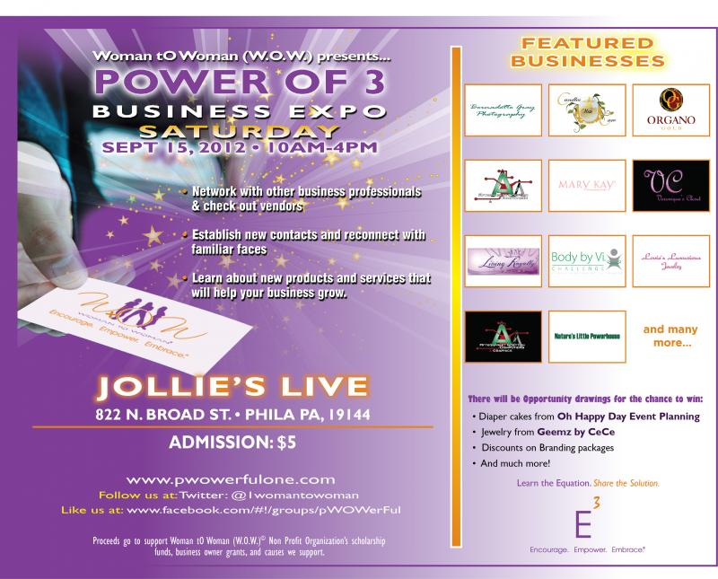 The Business Expo--P3 Gala 15 September 2012