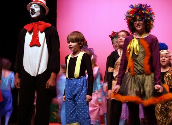 Youth theater production of Seussical!