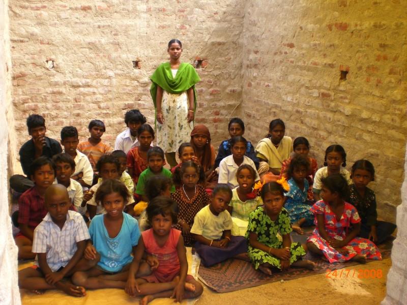 under privileged children school